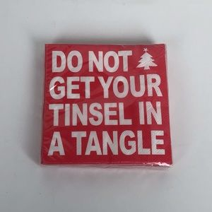 Tinsel in Tangle Napkins Holiday Gift